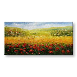 Maľovaný obraz na stenu na stenu KRAJINA BI145E1 (maľované obrazy BIANCA) vyobraziť
