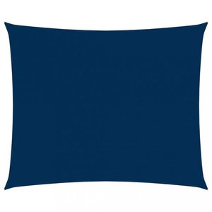 Tieniaca plachta obdĺžniková 5 x 6 m oxfordská látka Dekorhome Modrá vyobraziť
