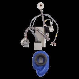 Sanela - Radarový splachovač na lište, 24 V DC vyobraziť