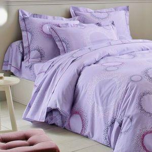 Posteľná súprava Vlnky, bavlna zn. Colom lila obliečka na prikr. 200x200cm vyobraziť