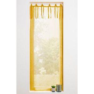 Vitrážová záclonka s mašličkami, zn. Col žltá 45x120cm vyobraziť