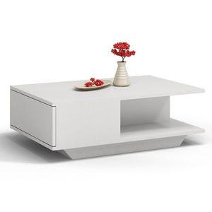 Konferenčný stolík biela vyobraziť