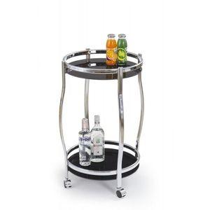 Kulatý barový stůl Arya černý vyobraziť