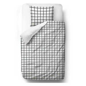 Obliečky z bavlneného saténu Butter Kings Simple Checkers, 200 x 200 cm vyobraziť