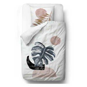 Obliečky z bavlneného saténu Butter Kings Glossy Monstera, 200 x 200 cm vyobraziť