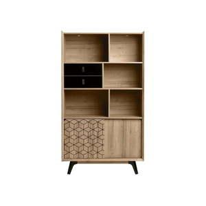 Knižnica v dekóre dubového dreva Marckeric Ceilan vyobraziť
