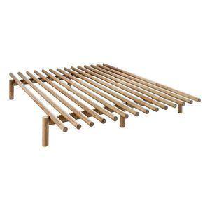 Rám postele z borovicového dreva Karup Design Pace Natural, 160 × 200 cm vyobraziť