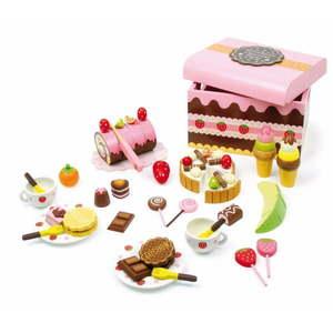 Drevený box plný sladkostí na hranie Legler Sweeties vyobraziť