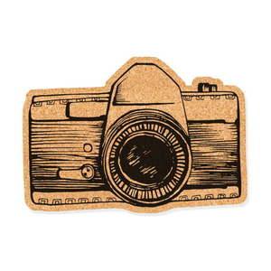 Korková dekoratívna nástenka Really Nice Things Camera vyobraziť
