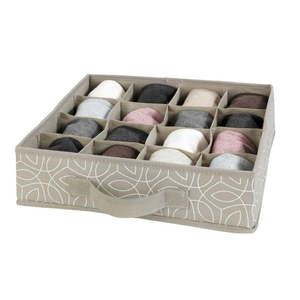 Béžový úložný box do zásuvky Wenko Balance vyobraziť