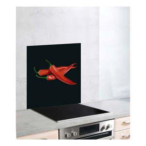 Sklenený kryt na sporák Wenko Peperoni, 60 × 70 cm vyobraziť