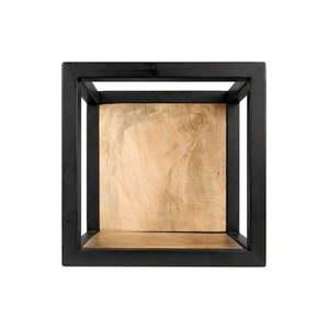 Nástenná polica s detailom z mangového dreva HSM collection Caria, 25 × 25 cm vyobraziť