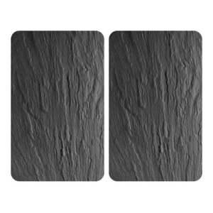 Sada 2 sklenených krytov na sporák Wenko XL State, 52 × 40 cm vyobraziť
