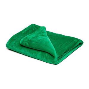 Zelená mikroplyšová deka My House, 150 × 200 cm vyobraziť