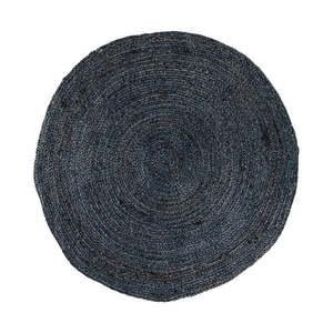Tmavosivý okrúhly koberec House Nordic Bombay, ø 150 cm vyobraziť