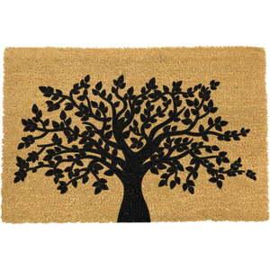 Rohožka z prírodného kokosového vlákna Artsy Doormats Tree of Life, 40 x 60 cm vyobraziť