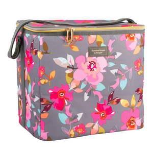 Kvetovaná chladiaca taška Navigate Grey Floral, 20 l vyobraziť