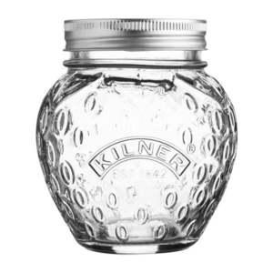 Sklenený zavárací pohár s viečkom Kilner Jahoda, 0, 4 l vyobraziť