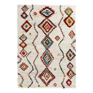 Krémovobiely koberec Mint Rugs Geometric, 120 x 170 cm vyobraziť