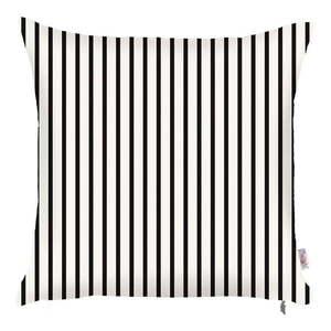Čierno-biela obliečka na vankúš Mike & Co. NEW YORK Pinky Light Stripes, 43 × 43 cm vyobraziť