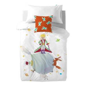 Detské bavlnené obliečky na paplón a vankúš Mr. Fox Le Petit Prince, 140 × 200 cm vyobraziť