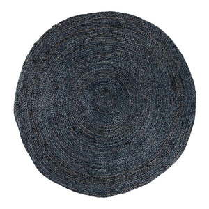 Tmavosivý okrúhly koberec House Nordic Bombay, ø 180 cm vyobraziť