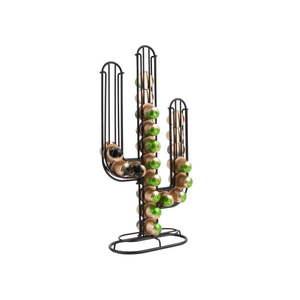 Čierny stojan na kávové kapsule PT LIVING Cactus vyobraziť