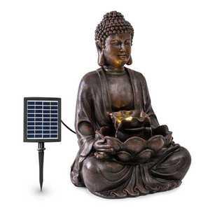 Blumfeldt Dharma, solárna fontána, LED, 48 × 72 × 41 cm (Š × V × H), polyresin vyobraziť