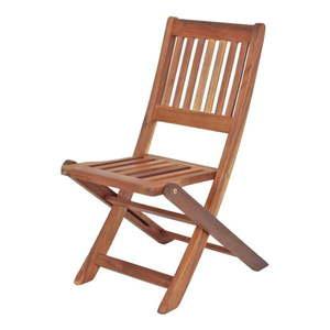 Detská záhradná skladacia stolička z eukalyptového dreva ADDU Montana vyobraziť
