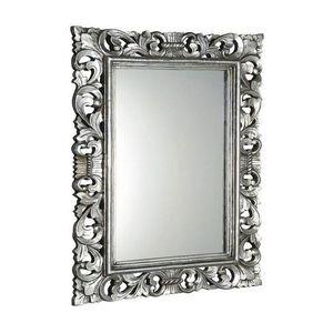 SAPHO - SCULE zrkadlo v ráme, 70x100cm, strieborná Antique IN156 vyobraziť
