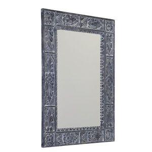 SAPHO - UBUD zrkadlo v ráme, 70x100cm, šedá IN231 vyobraziť