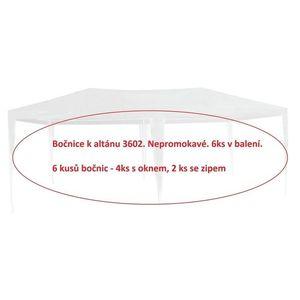 ArtRoja bočnice k altánku 3602 - 6ks - BIELA vyobraziť