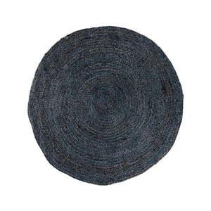 Tmavosivý okrúhly koberec House Nordic Bombay, ø 90 cm vyobraziť