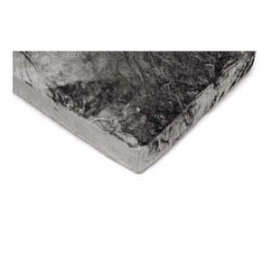 Sivá mikroplyšová plachta My House, 90 × 200 cm vyobraziť