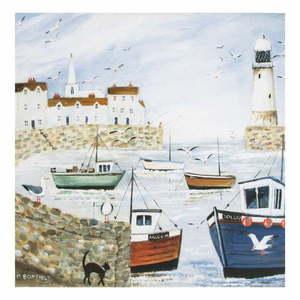 Obraz Graham & Brown Harbourside Type, 50 x 50 cm vyobraziť