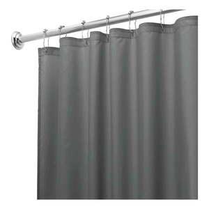 Sivý sprchový záves iDesign, 180 x 200 cm vyobraziť