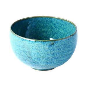 Tyrkysovomodrá keramická miska MIJ Peacock, ø 11 cm vyobraziť