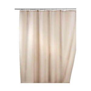 Béžový sprchový záves s protiplesňovou povrchovou úpravou Wenko, 180 × 200 cm vyobraziť
