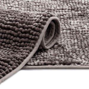 Koupelnový koberec Bati hnědý vyobraziť