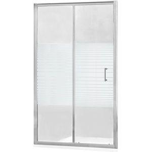 MEXEN - Apia posuvné sprchové dvere 95 cm dekor, chróm 845-095-000-01-20 vyobraziť