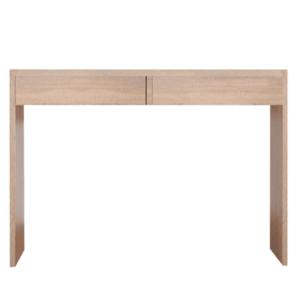 Toaletný stolík/písací stôl, dub sonoma, VIOLET vyobraziť
