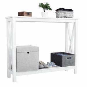Konzolový stolík, biela, SONET vyobraziť