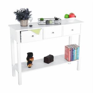 Konzolový stolík, biela, NITRO vyobraziť