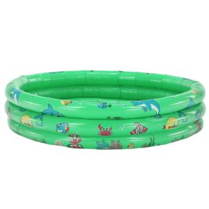 Detský nafukovací bazén, zelená/vzor, LOME vyobraziť