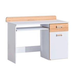 PC stôl, biela/dub nash, EGO L10 vyobraziť