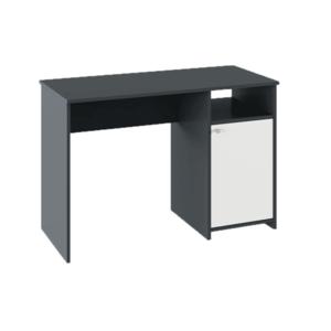 PC stôl, grafit/biela, DEDE vyobraziť