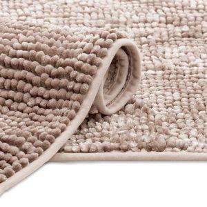 Koupelnový koberec Bati pudrově růžový vyobraziť