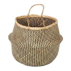 Úložný košík z morskej trávy Compactor Zic Zac, ⌀ 45 cm vyobraziť