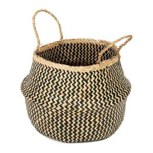 Úložný košík z morskej trávy Compactor Zic Zac, ⌀ 35 cm vyobraziť