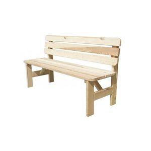 drevená lavice vyobraziť